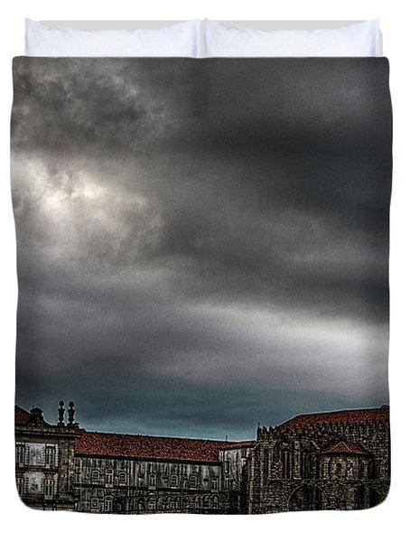 Old Monastery Duvet Cover