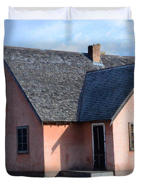 Old Mormon Home Duvet Cover by Kathleen Struckle