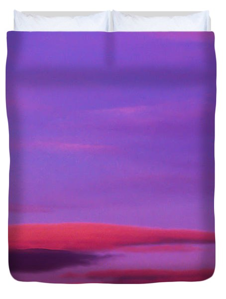 Old Orchard Beach Duvet Cover