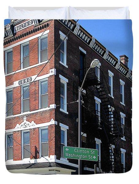 Old Penn Hotel - Johnstown Pa Duvet Cover