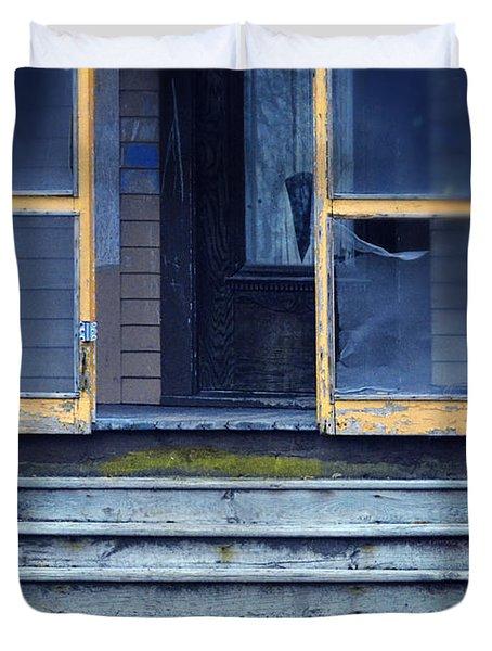 Old Porch Duvet Cover