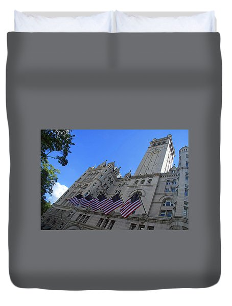 The Old Post Office Or Trump Tower Duvet Cover