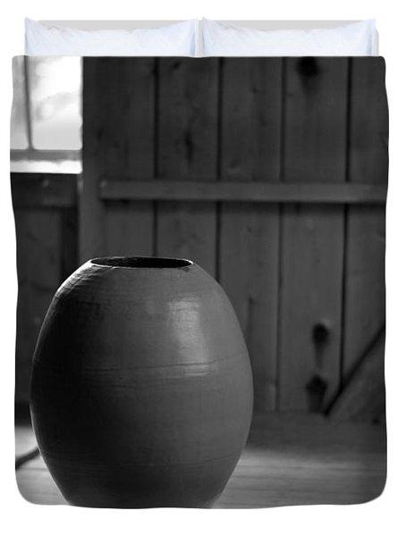 Old Pot   Duvet Cover by Tommytechno Sweden