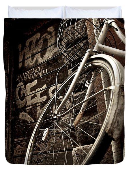Old Ride Duvet Cover