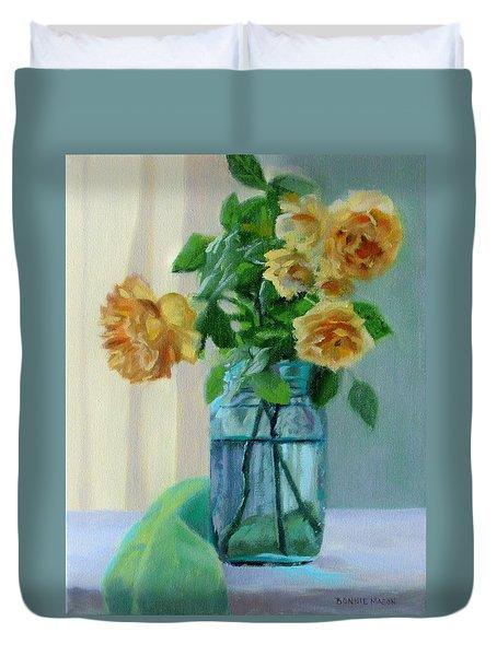 Old Roses Duvet Cover