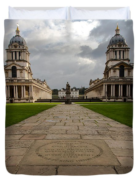 Old Royal Naval College Duvet Cover