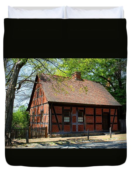 Old Salem Scene 3 Duvet Cover