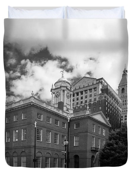 Old State House 15568b Duvet Cover