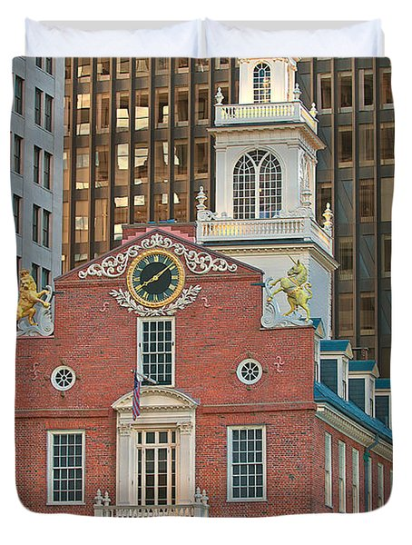 Old State House Duvet Cover