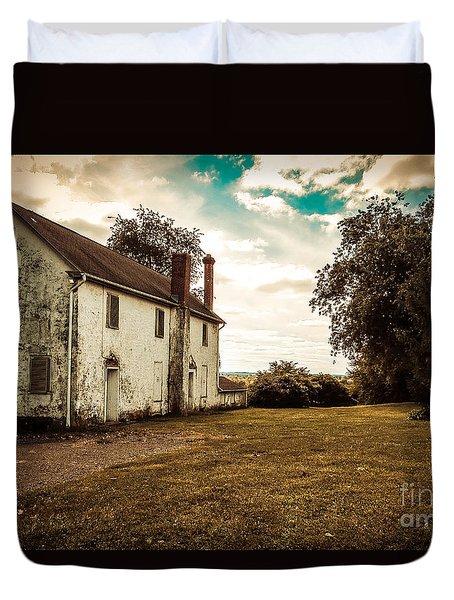 Old Stone House Duvet Cover