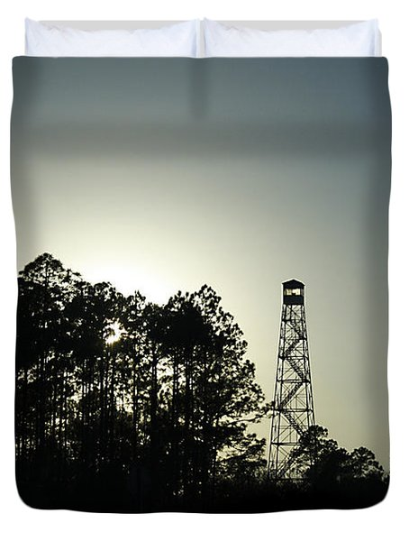 Old Tower Duvet Cover