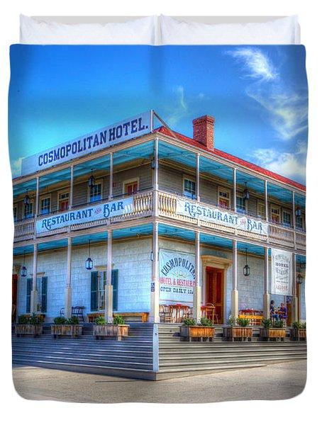 Old Town Cosmopolitan Duvet Cover by Heidi Smith