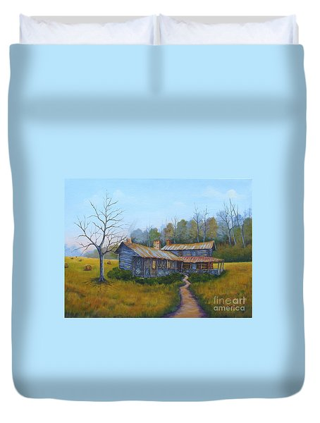 Old Walker Homestead #2 Duvet Cover