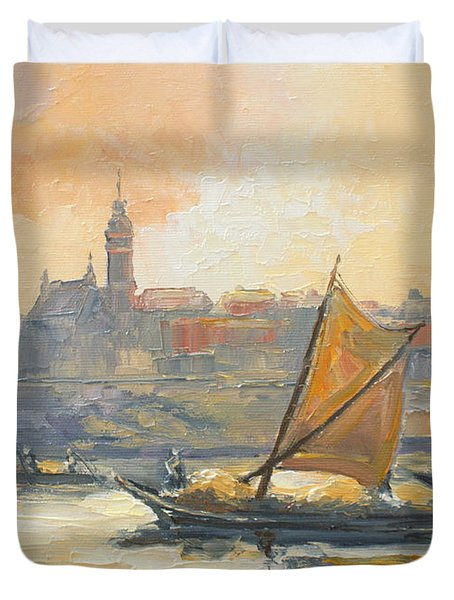 Old Warsaw Duvet Cover