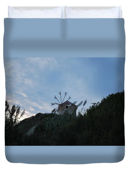 Old Wind Mill 1830 Duvet Cover