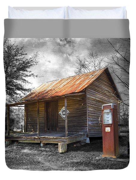 Olden Days Duvet Cover by Debra and Dave Vanderlaan