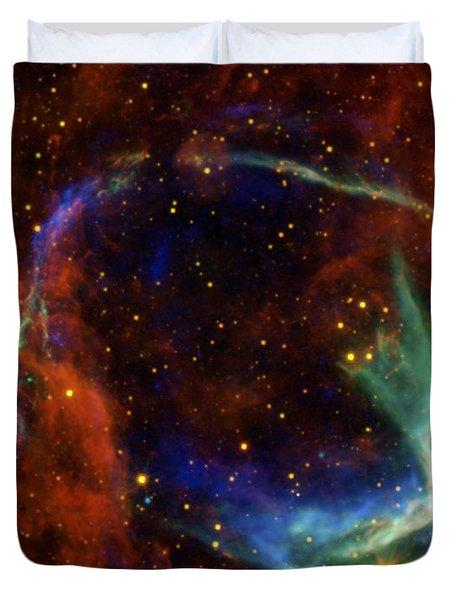 Oldest Recorded Supernova Duvet Cover by Adam Romanowicz