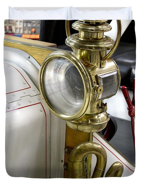 Oldtimer Front Light Duvet Cover by Heiko Koehrer-Wagner