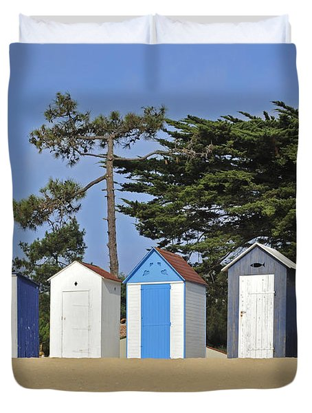 Duvet Cover featuring the photograph Oleron 6 by Arterra Picture Library