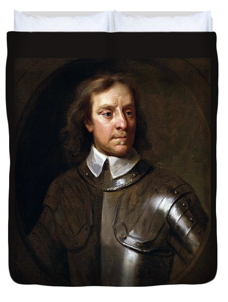 Oliver Cromwell Duvet Cover by War Is Hell Store