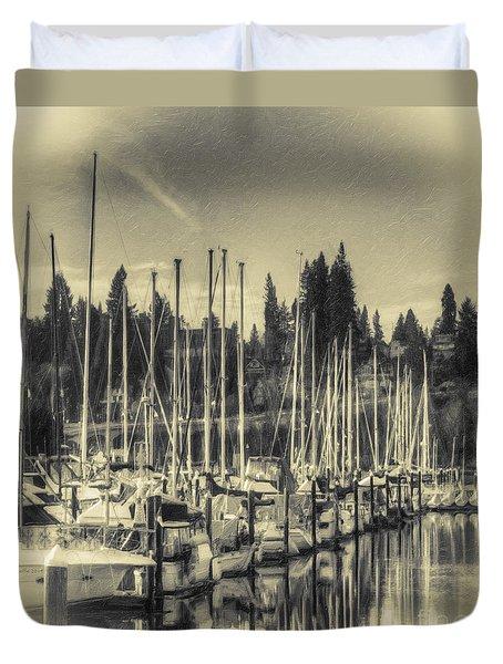 Olympia Marina 1 Duvet Cover