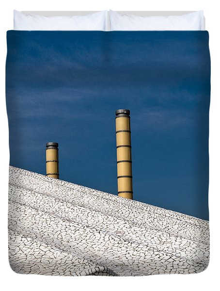 Olympic Columns Duvet Cover