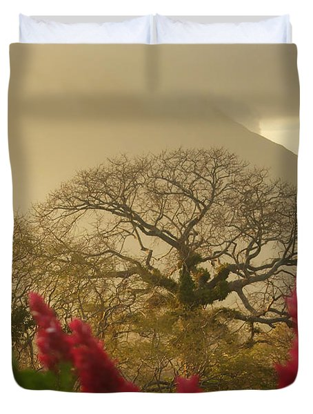 Ometepe Island 2 Duvet Cover