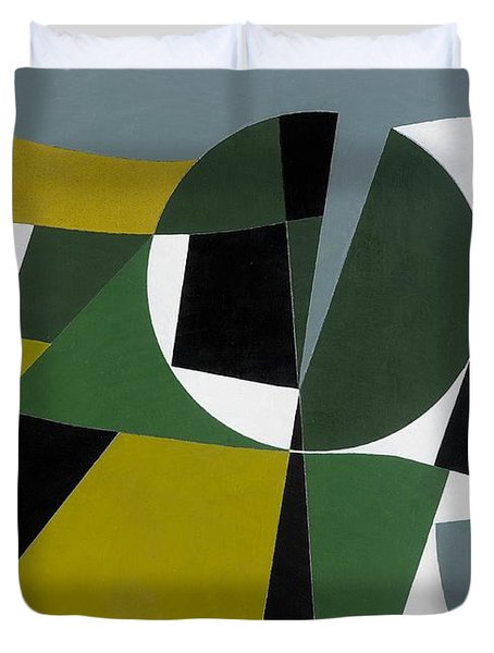 Ominous Landscape Duvet Cover by George Dannatt