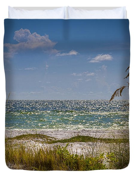 On A Clear Day Duvet Cover by Marvin Spates