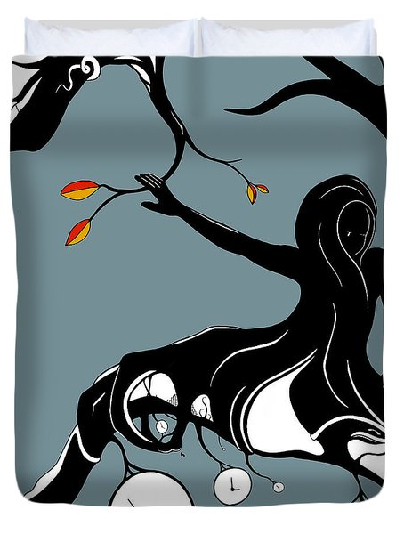 On A Limb Duvet Cover