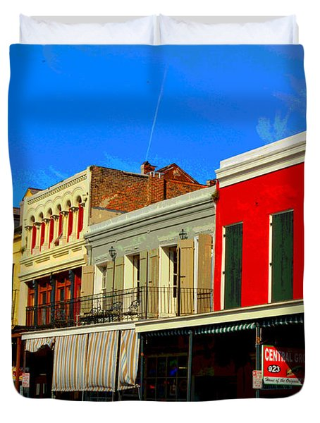 On Decatur Street Duvet Cover by Alys Caviness-Gober