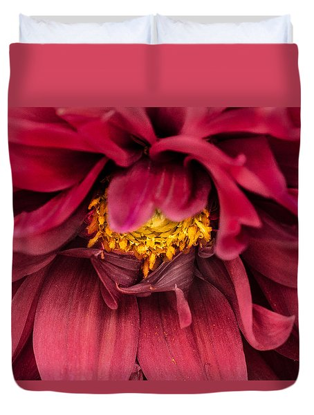 Duvet Cover featuring the photograph On Fire by Edgar Laureano
