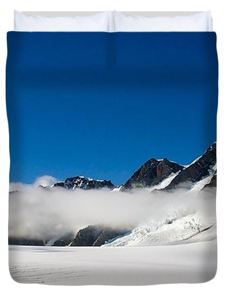 On Fox Glacier Duvet Cover