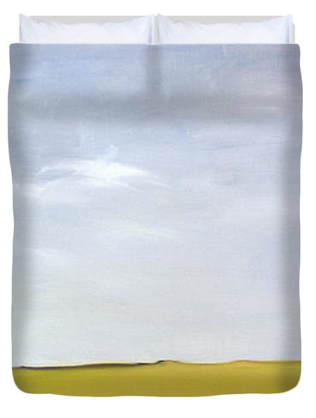 On Minchinhampton Duvet Cover