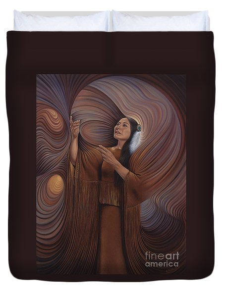 On Sacred Ground Series V Duvet Cover