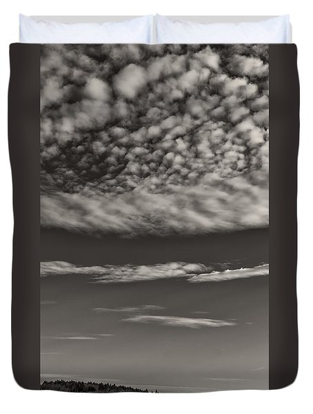 On The Lookout Duvet Cover by Bernd Laeschke