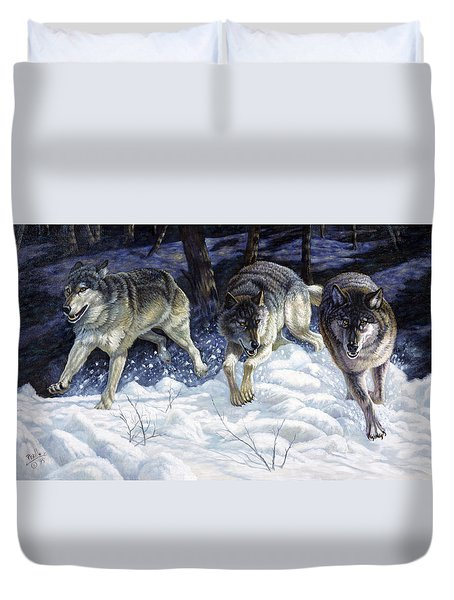 On The Prowl Duvet Cover