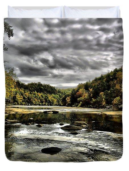 On The River Duvet Cover