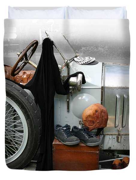 On The Road Duvet Cover