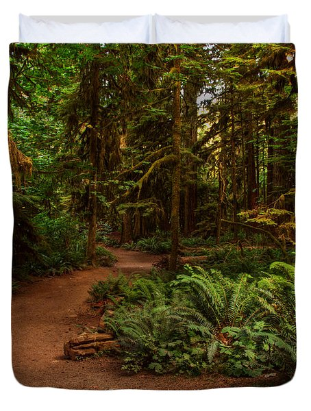 On The Trail To .... Duvet Cover by Randy Hall