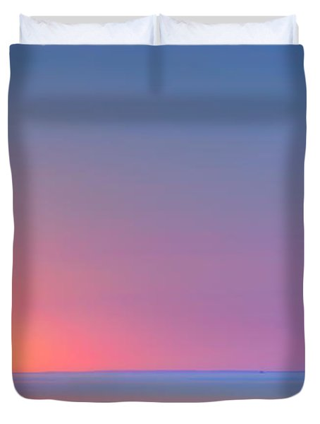 On The Water Duvet Cover by Bill Wakeley