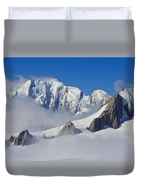 On Top Of The World Duvet Cover by Venetia Featherstone-Witty
