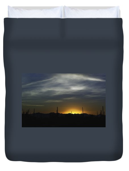Once Upon A Time In Mexico Duvet Cover by Lynn Geoffroy