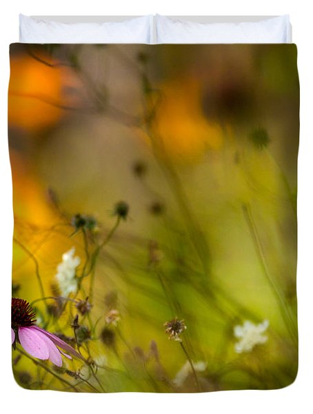 Duvet Cover featuring the photograph Once Upon A Time There Lived A Flower by Mary Amerman