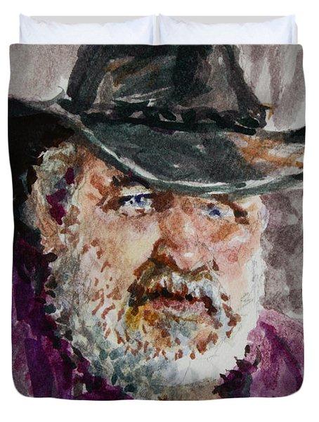 One Eyed Cowboy  Duvet Cover