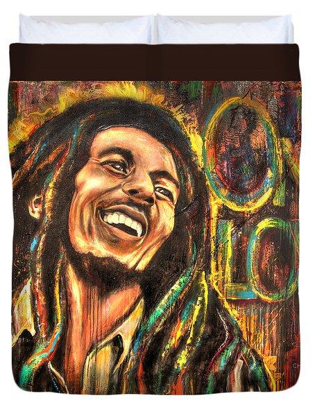 Bob Marley - One Love Duvet Cover