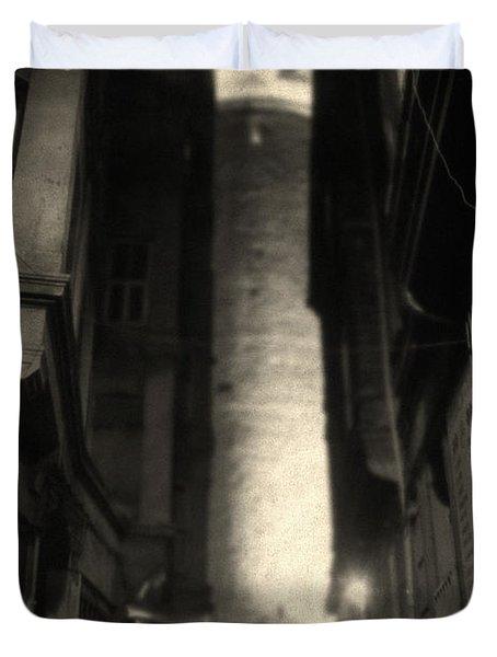One Of The Few Duvet Cover by Taylan Apukovska