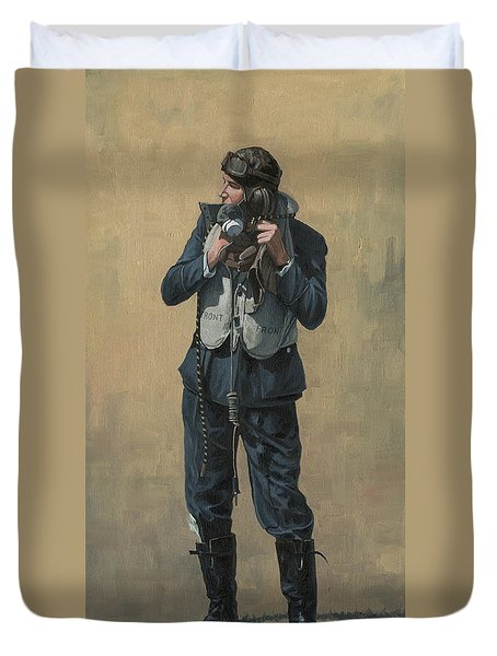 One Of The Few Duvet Cover by Wade Meyers