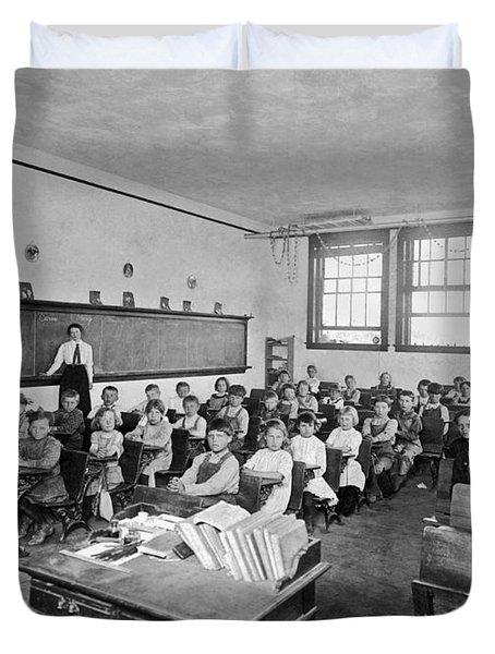 One Room School Duvet Cover