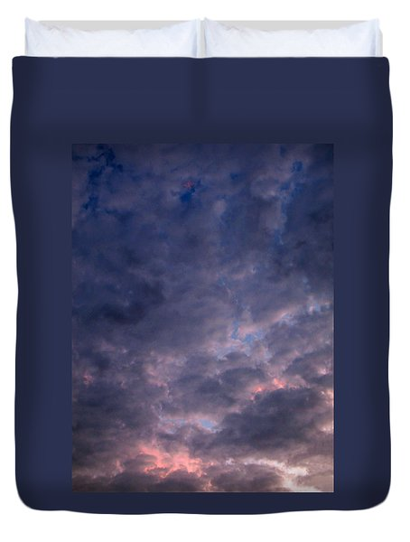 Finally It Rained In Texas Duvet Cover by Connie Fox